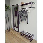 Spinder Design Donna 4 Pas spiegel 190x60x8 - Zwart