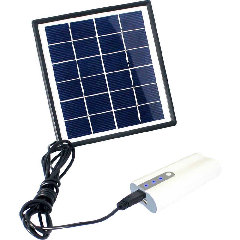 PowerPlus Dove - Solar LED Lighting and Power Bank System