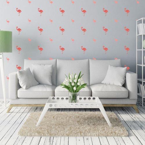 Walplus Home Decoration Sticker - Pink Flamingo