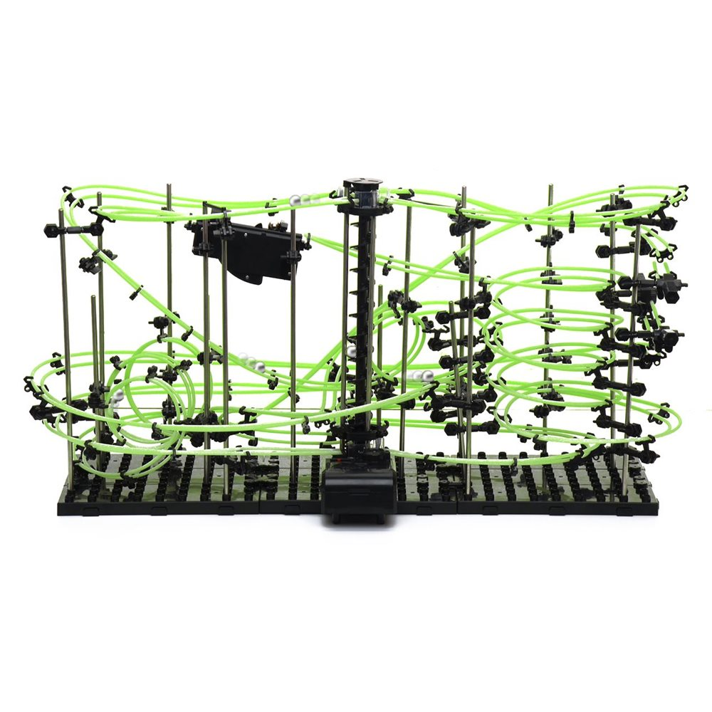 United Entertainment Spacerail Ball path Roller coaster - Level 4 Glow in the Dark