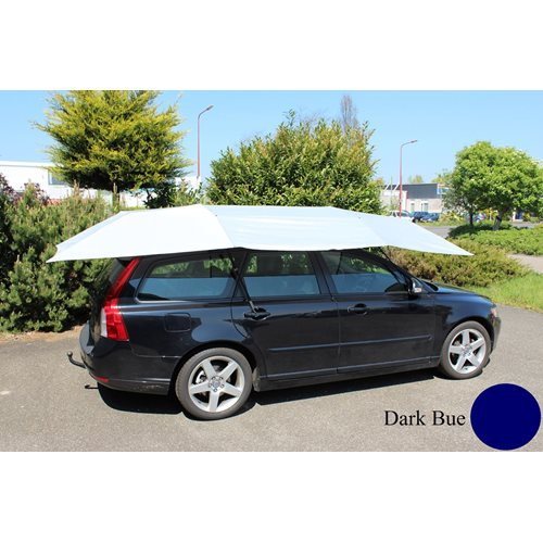United Entertainment Automatic Car Umbrella Shade - Dark Blue