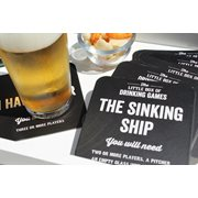 ThumbsUp! Drinking Games Beer Mat