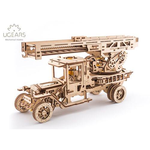 Ugears Wooden Model Kit - Fire Truck