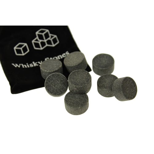 United Entertainment Whisky Stones Rond - Set van 9