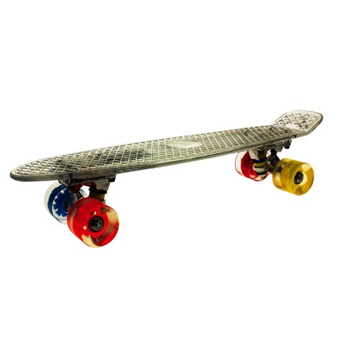 United Entertainment Penny Board Skateboard with LED Lighting