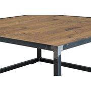 Spinder Design John Salontafel 80x80x35 - Blacksmith/Eiken