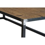 Spinder Design John Salontafel 140x60x35 - Blacksmith/Eiken