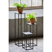 Spinder Design Ibiza Zuil 20x20x90 - Blacksmith/Tegels