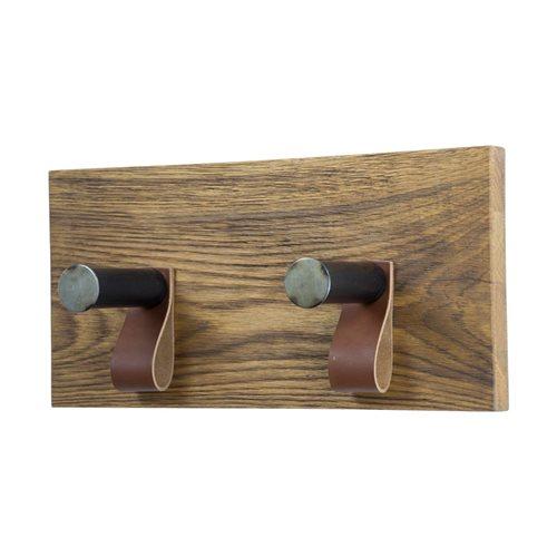 Spinder Design Lewis 2 Kapstok met 2 Haken - Blacksmith