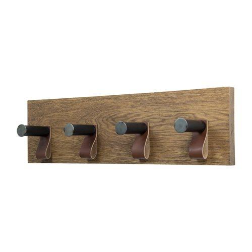 Spinder Design Lewis 4 Kapstok met 4 Haken - Blacksmith