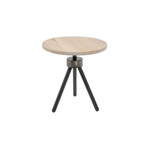 Spinder Design Anna Side Table ø 40 - Blacksmith/Oak