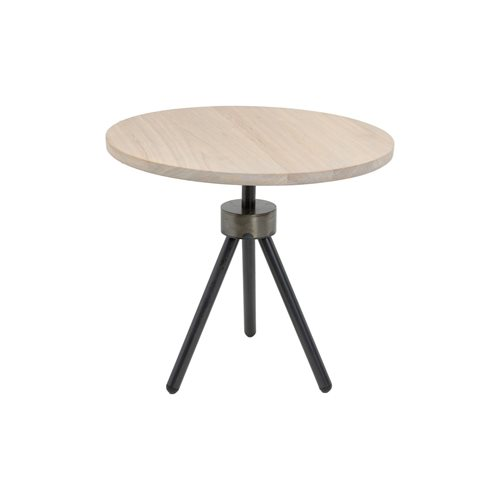 Spinder Design Anna Side Table ø 50 - Blacksmith/Oak