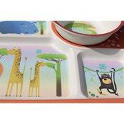 BimBamBoo Kids Dinner Set - Wild Animals