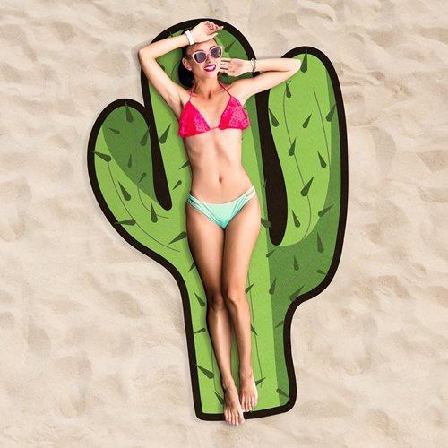 Giggle Beaver Cactus - Beach Towel