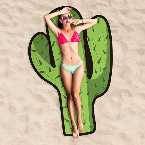 Giggle Beaver Cactus - Strandlaken - 180 cm