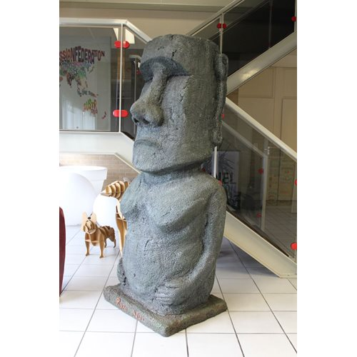 Rotary Hero Big Moai Statue - 180 cm