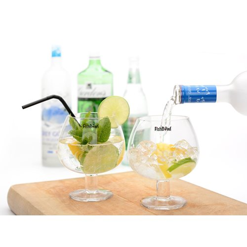 FishBowl™ 600ml Glas - Set von 2