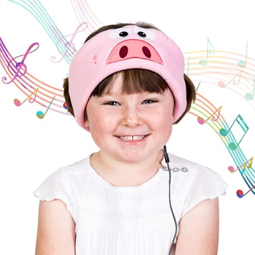 Snuggly Rascals Headphones for Kids - Piggy