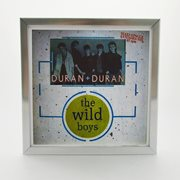 7 inch Single Record Display Frame - Silver