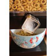 United Entertainment Luxury Single Cornflakes Dispenser - Black