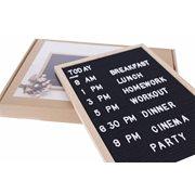United Entertainment Vintage Filz Letterboard mit Holzrahmen