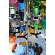 United Entertainment Bar Butler 6 Shot Dispenser Carousel