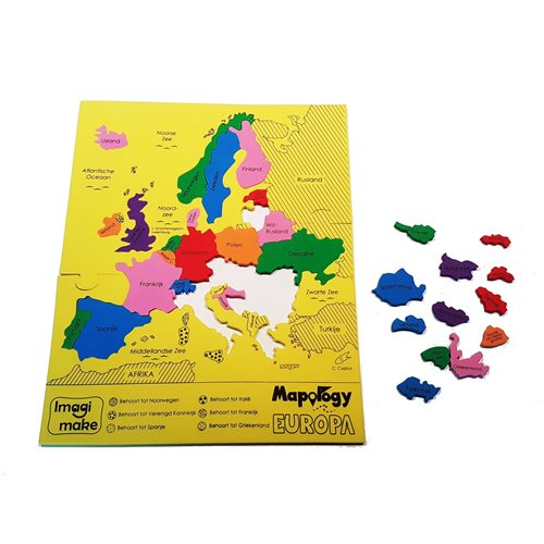 Imagimake - Foam Puzzle - Largest Countries of Europe (NL)