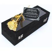 United Entertainment Goldene Rose schwarzer Samt Box