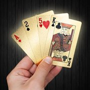 United Entertainment Golden Playing Cards
