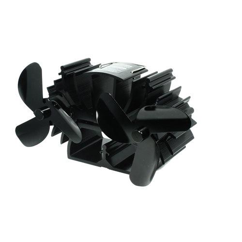 PowerPlus EcoSavers - Hitzebetriebener Holzofenventilator - Doppel