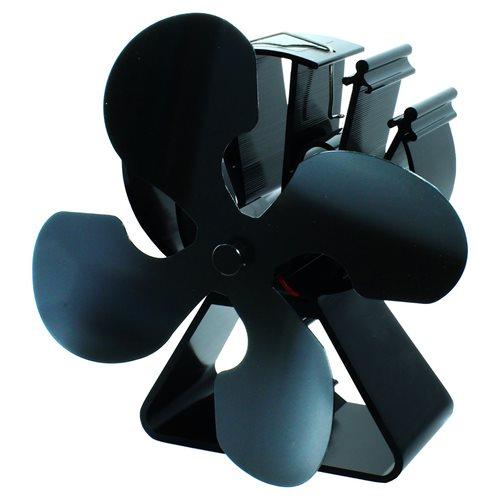 PowerPlus EcoSavers - Warmte-aangedreven Houtkachelventilator - Enkel