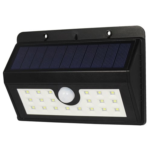 PowerPlus Boa - Solar 20 LED PIR Sensor Light