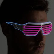 IA Roze en Aqua LED Light Up Bril
