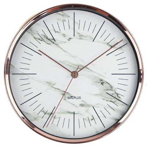 Walplus Wall Clock Glory Time - Copper 25 cm