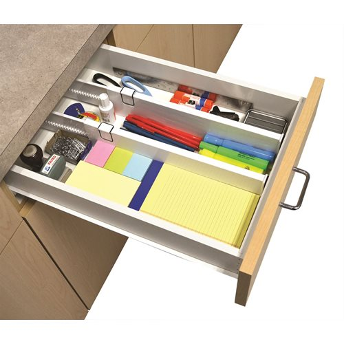 IdeaWorks Snap-fit Drawer Dividers - Set of 2