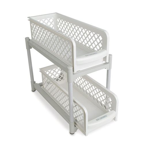 IdeaWorks 2-Tier Sliding Basket Drawers