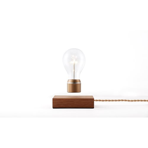 FLYTE Royal 2.1 Zwevende Tafellamp - Eiken / Goud