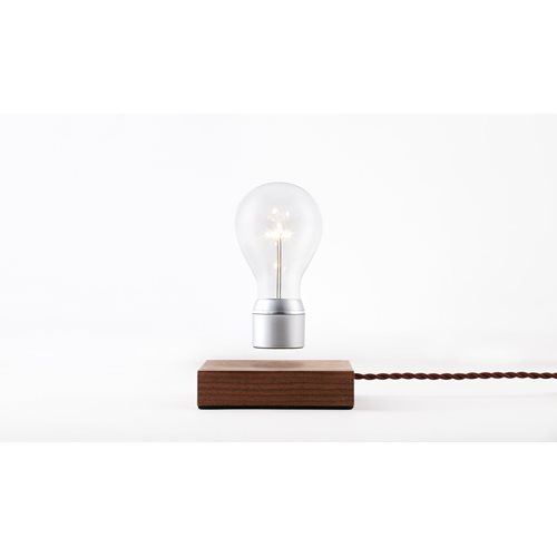 FLYTE Manhattan 2.1 Floating Tablelamp - Walnut / Chromium
