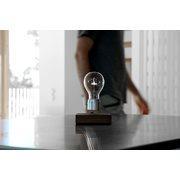 FLYTE Manhattan 2.1 Zwevende Tafellamp - Walnoot / Chrome