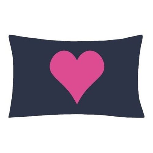 Interactive Pillow Case Glow Sketch Love Heart