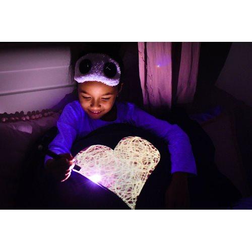 Glow Sketch Interaktive Kissenbezug - Herz