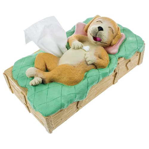 Rotary Hero Dog Tissue Box Cover