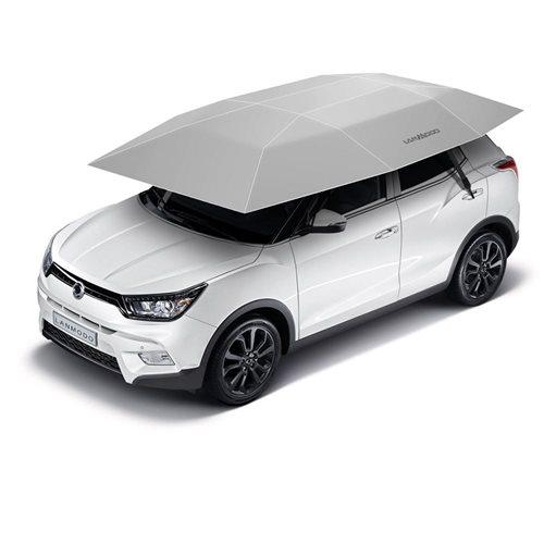 United Entertainment Automatische Auto-Regenschirm Sonnenschutz 3.5x2.1M - Silber