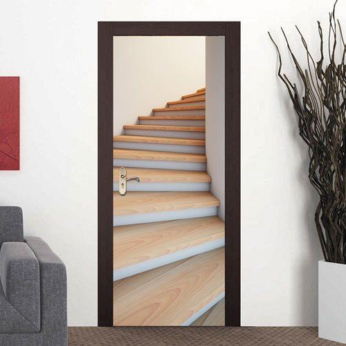 Walplus Door Decoration Sticker - Stairwell