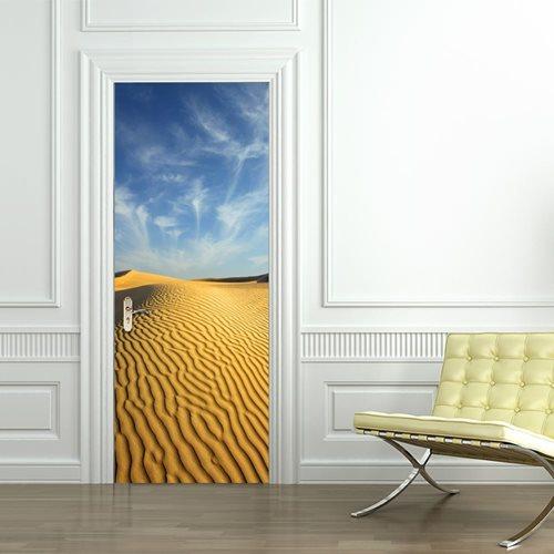 Walplus Door Decoration Sticker - Desert Dune
