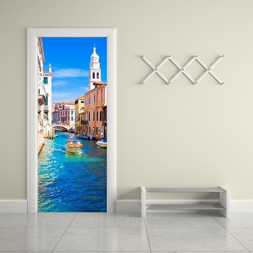 Walplus Tür Dekoration Aufkleber - Venedig