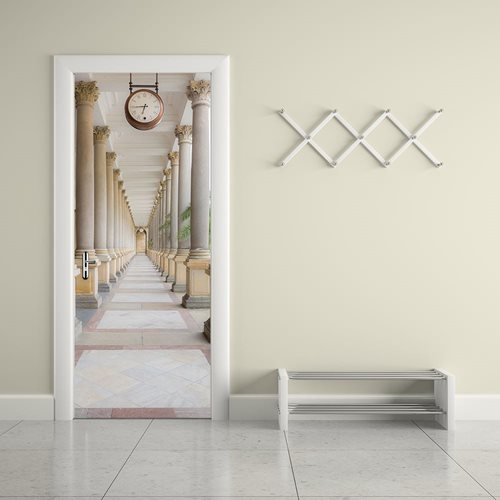 Walplus Door Decoration Sticker - Columns
