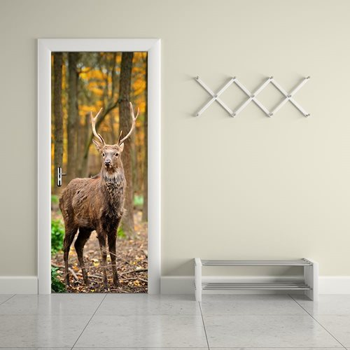 Walplus Door Decoration Sticker - Deer
