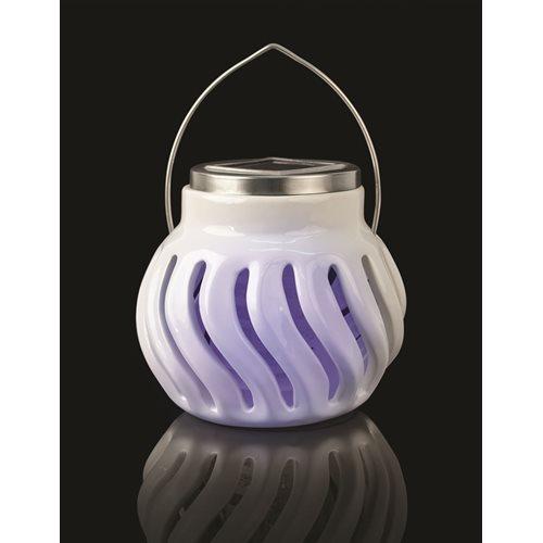IdeaWorks Solar Powered Ceramic Bug Zapper