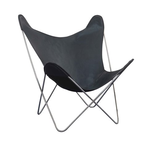 Spinder Design Spider Vlinderstoel - Zwart